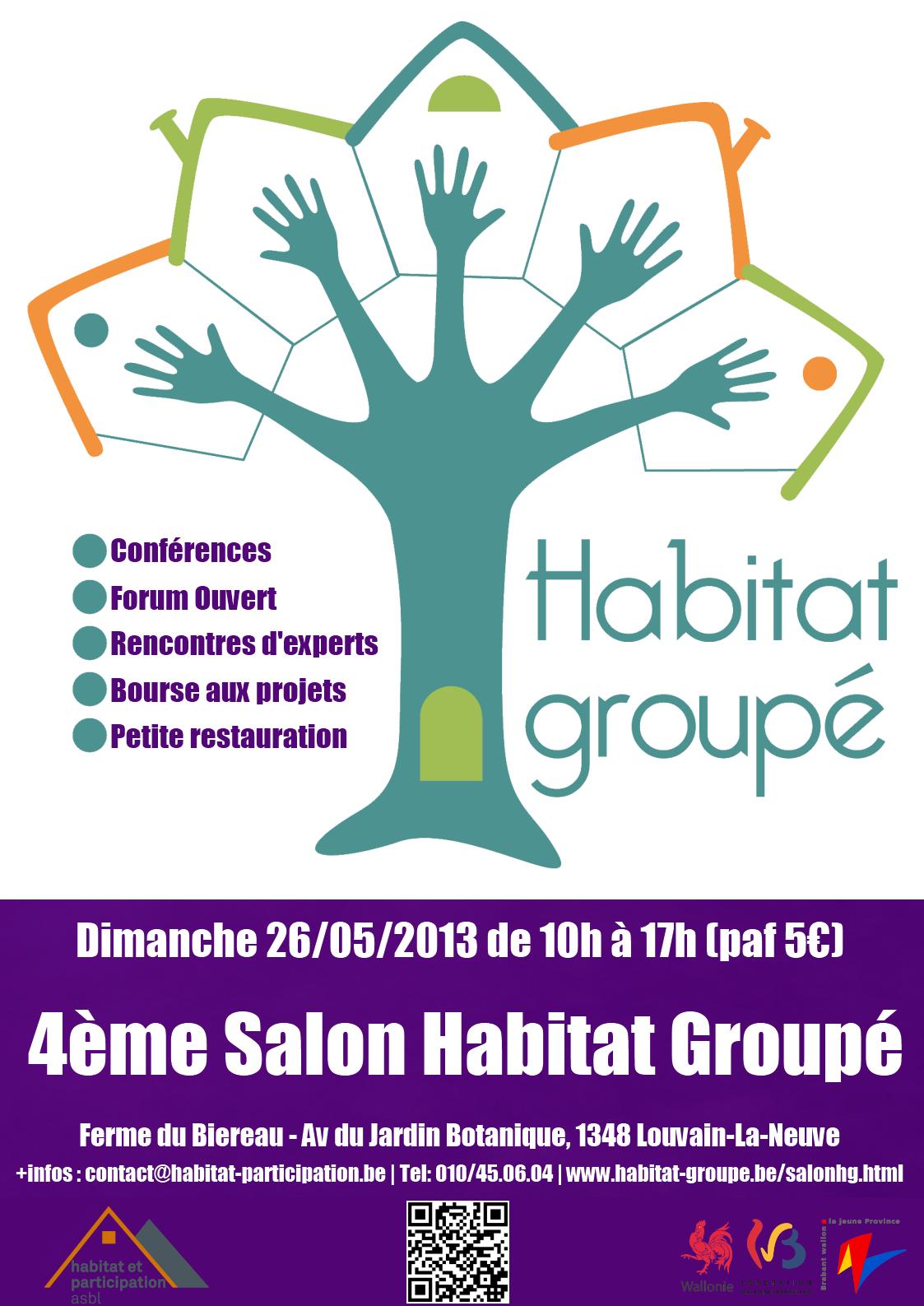 Affiche Salon Habitat Groupé